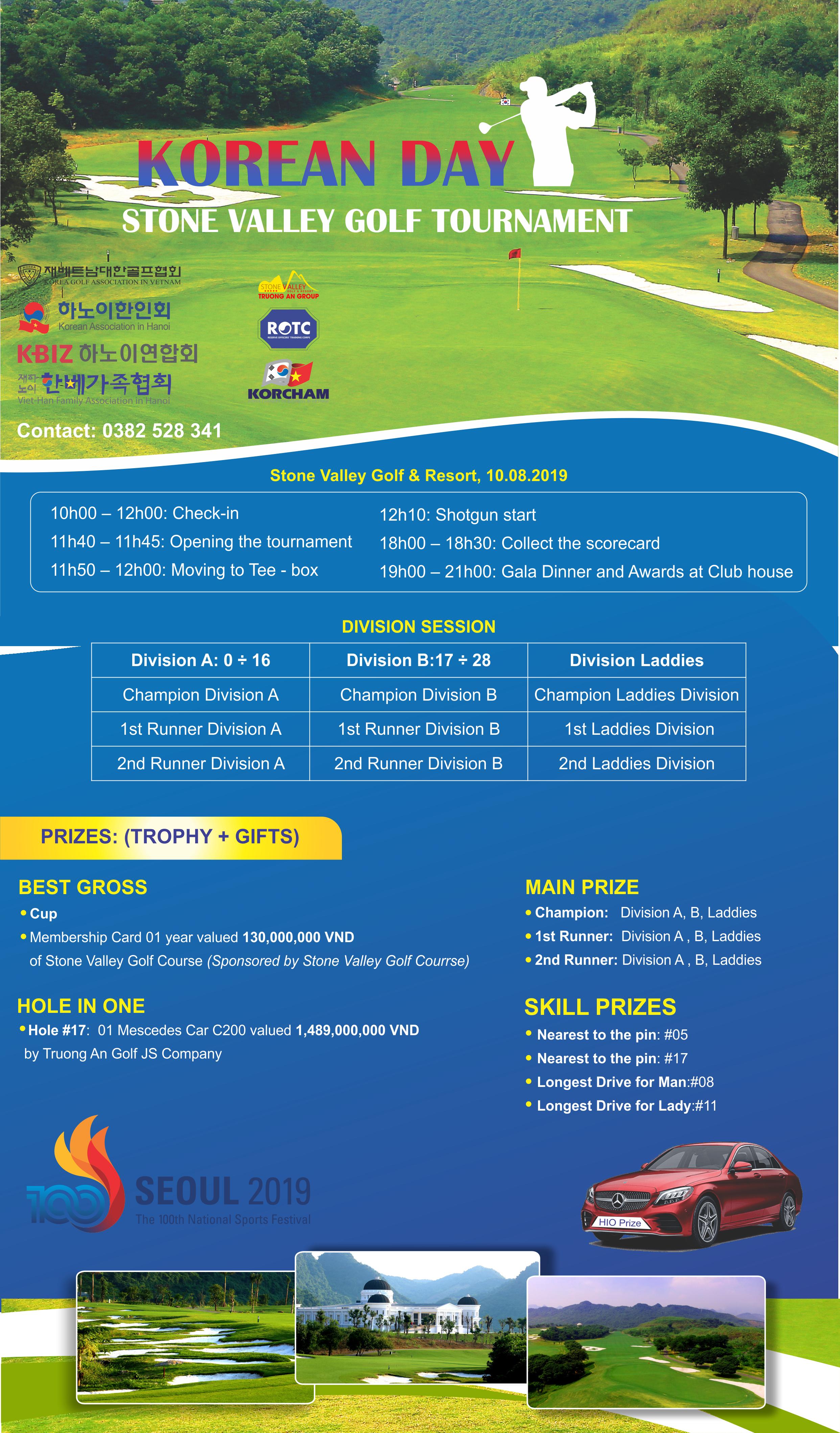 Korean Day Stone Valley Golf Tournament